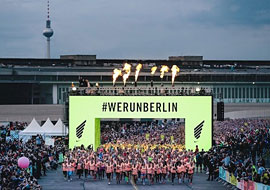 Veranstaltungsschutz von PPS Berlin, Personal Protection Service beim JXZ NIKE Women's Run